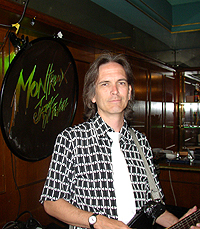 Charlie Morris at the Montreux Jazz Festival, July 2007
