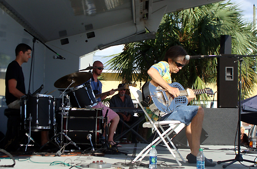 Charlie Morris Band at the Tangerine Blues Festival, Gulfport FL