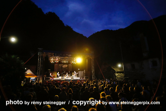 Magic Blues Festival, CH. Photo by Remy Steinegger.