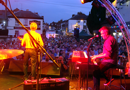 Upton Blues Festival, UK. Photo by Denise Bonjour.