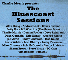 Click to learn more about The Bluescoast Sessions, the new CD featuring Lucky Peterson, Damon Fowler, The Sauce Box, Betty Fox, TC Carr and lots more great bluesmen and women